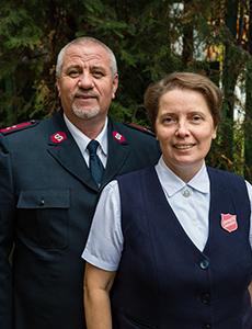 Captains Andrei & Lilia Cojucari