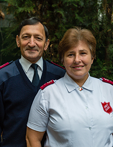 Captains Gheorghe & Eugenia Roman